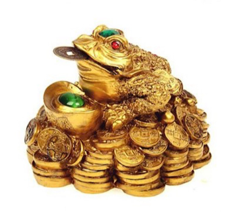 Денежная жаба символ богатства фен шуй