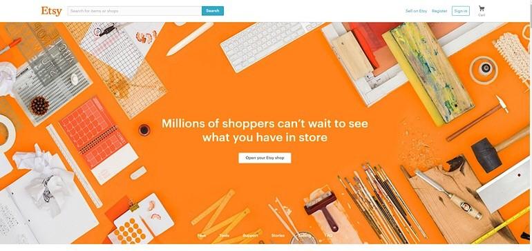 Удобная площадка для онлайн-продаж ручных работ