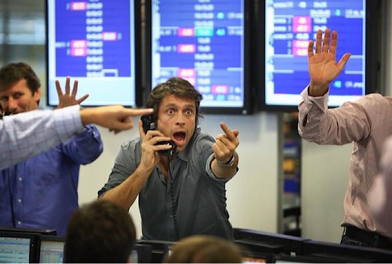 Обычные будни биржи ценных бумаг