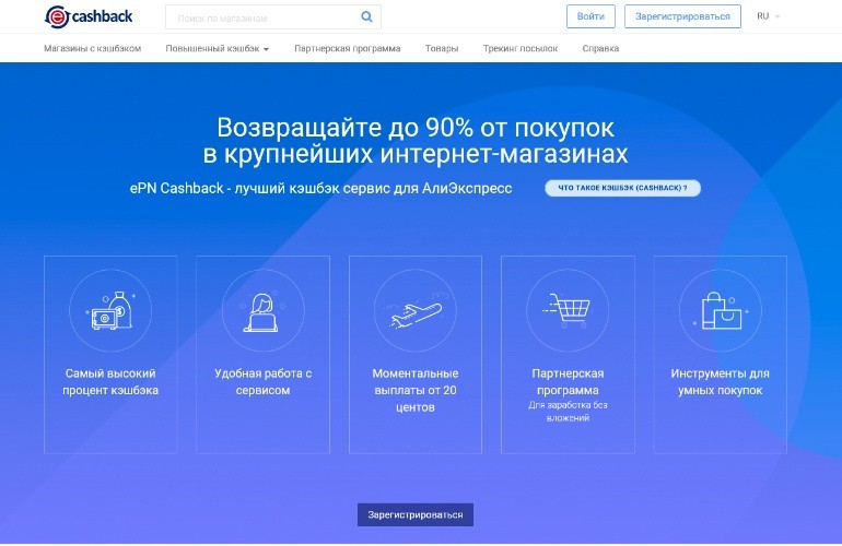 Сайт для работы с АлиЭкспресс