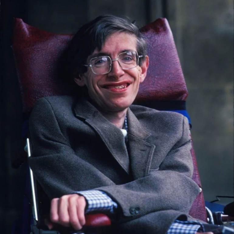 Стивен Хокинг в своём кресле